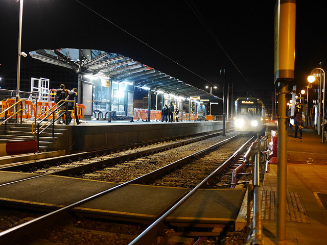 Manchester Airport welcomes early morning rail services