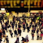 Busy travel at Christmas