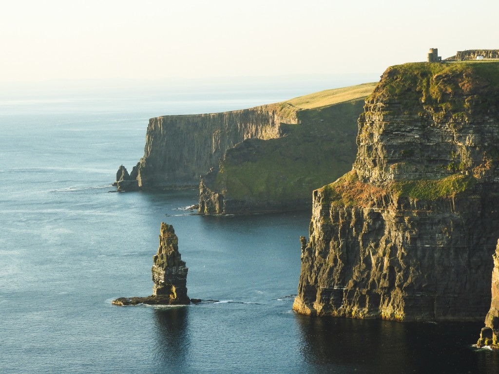 Ireland coastline cliff