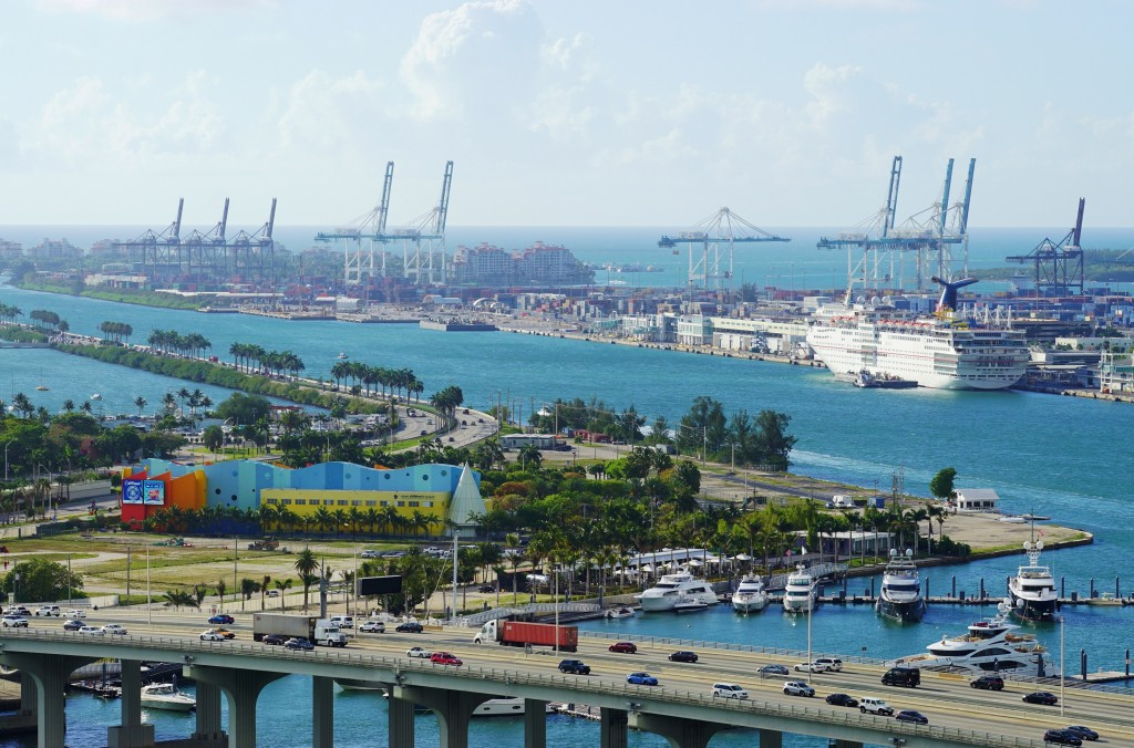 PortMiami in Florida