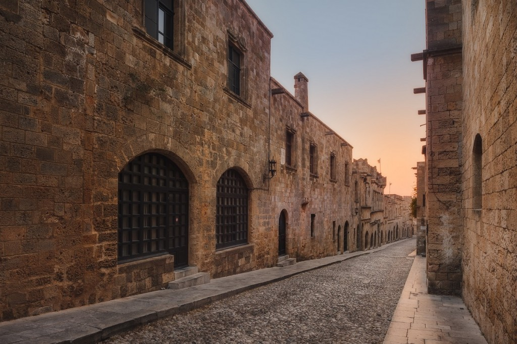 Street of the Knights in Rhodes
