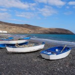 boats in Fuerteventura