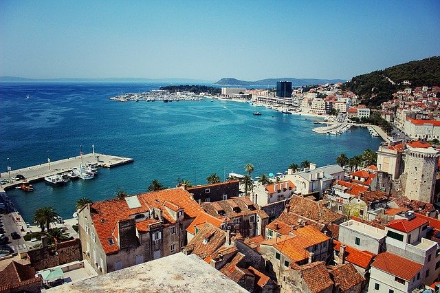 coast of Split, Croatia