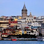 istanbul tower and city